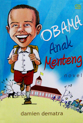 "Book Cover for ""Obama Anak Menteng"""
